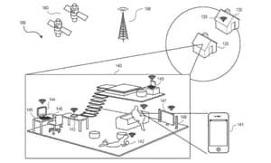 Apple location patent