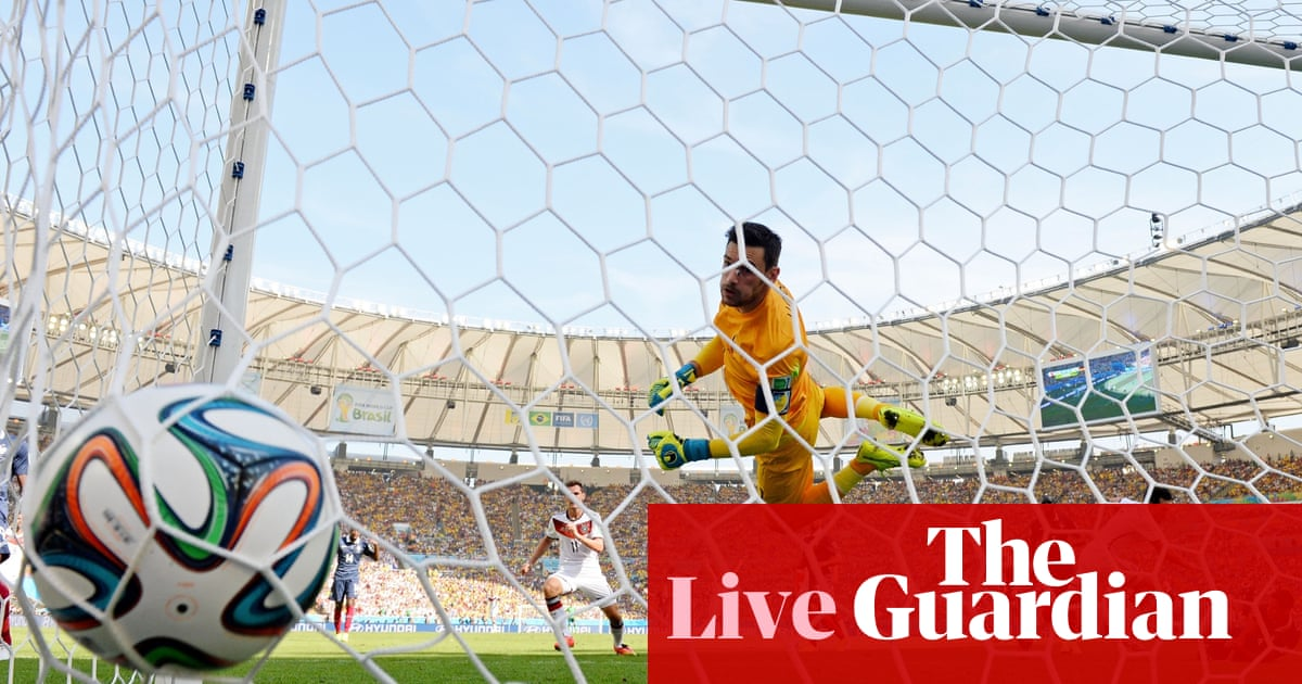 c9791e7921c6 France v Germany  World Cup 2014 quarter-final – as it happened ...
