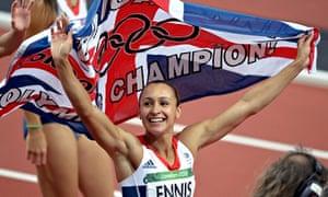 杰西卡恩尼斯参加2012年伦敦奥运会