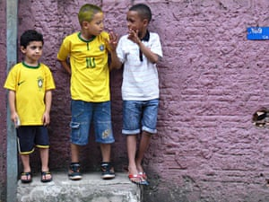 World Cup 2014 in pictures: the view from the favelas