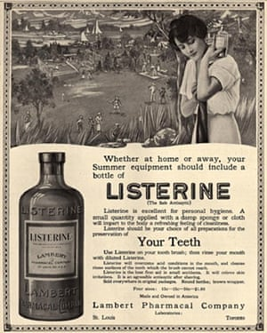 Listerine advert
