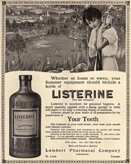 Listerine advert