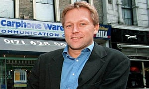 Carphone Warehouse co-founder David Ross