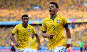 ...and celebrates with the recalled Paulinho.