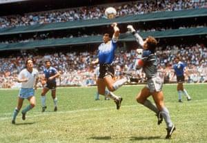 Best World Cup photos.: Argentina v England - Estadio Azteca, Mexico City