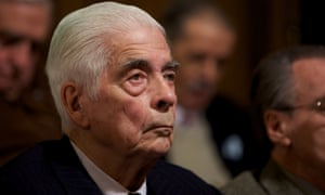 Former general Luciano Benjamin Menendez.