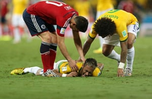 Brazil v Colombia: Fifa World Cup Brazil 2014 - quarter-final