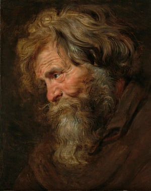 art detectives: Rubens Study (tronie) of an Old Man