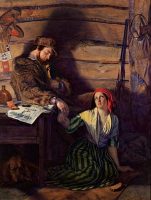 art detectives: William Gale The Captured Runaway