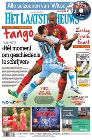 Those funny Belgians …