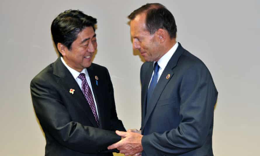 Shinzo Abe Tony Abbott