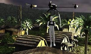 BAE futuristic drone