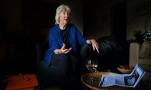 Australian writer Elizabeth Harrower at her home in Cremorne, Sydney.