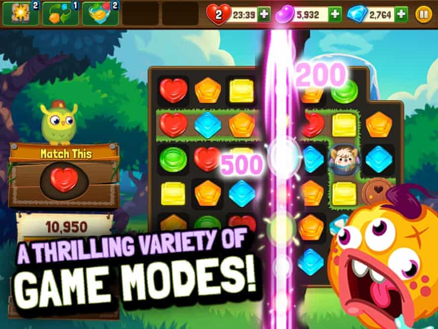 Moshling Rescue game's in-app purchases go up to £59.99.