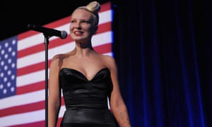 Singer Sia at the 2014 Democratic National Committee LGBT Gala