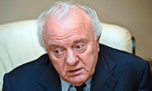 Former Georgian president Eduard Shevardnadze dead