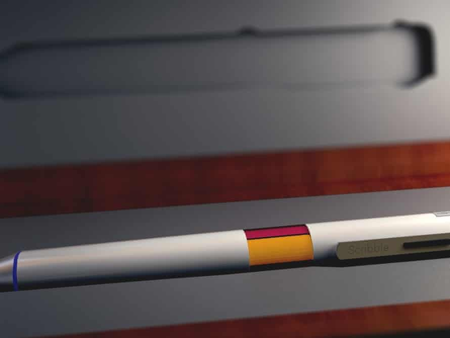 Real-life colour-picker … The Scribble Pen can sample and reproduce 16 million unique colours.