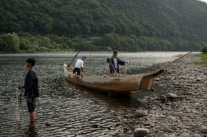This traditional form of fishing has tkaen place in Japan since 1300.
