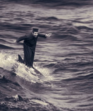 The Miracle of Dolphin-Surfing, 2002, Joan Fontcuberta.