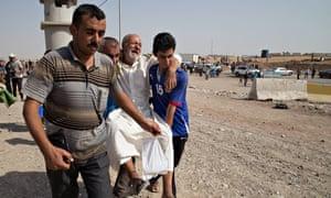 Iraqis flee ISIS violence