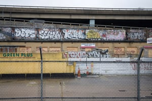 Graffiti under the Westway.