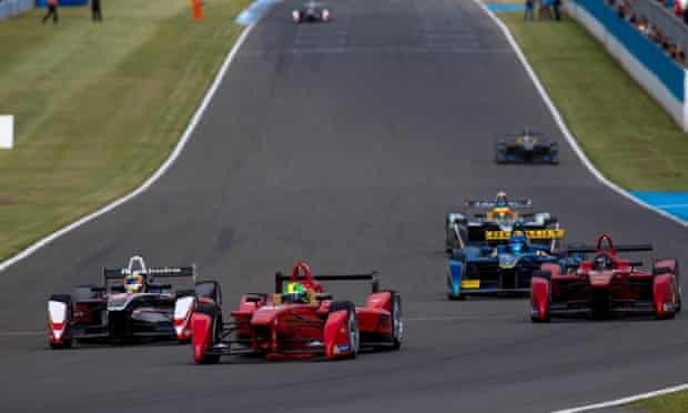 2014 Formula E Championship during day one of Donington park test