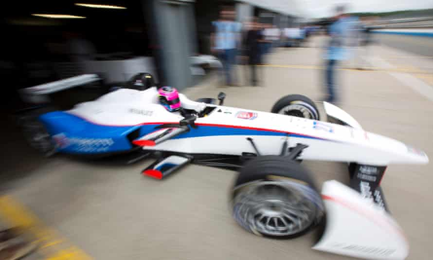 2014 Formula E Championship  during day one of Donington park test, on 3 July 2014