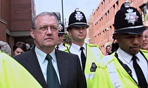 Former Ch Supt David Duckenfield arriving at the Hillsborough inquest