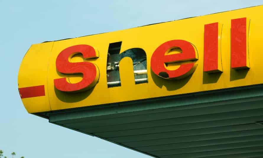 A Shell filling station in Edinburgh.