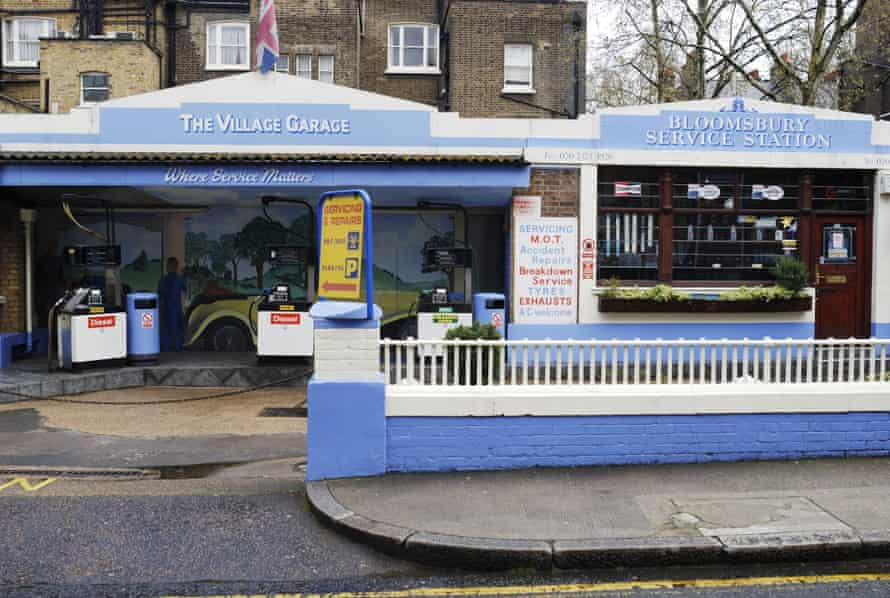 Bloomsbury Service Station, which started selling petrol in 1926, closed its doors six years ago. The site is now occupied by a Byron burger joint.