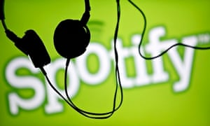 The streaming of music via services such as Spotify will now be recognised within the official UK mu