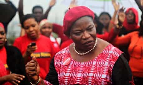 'Bring Back Our Girls' campaigner Obiageli Ezekwesili