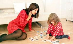 Ariane Sherine and daughter
