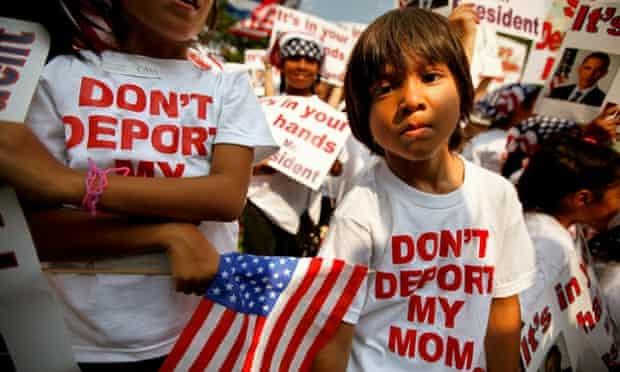 US Money undocumented immigration children parents deport