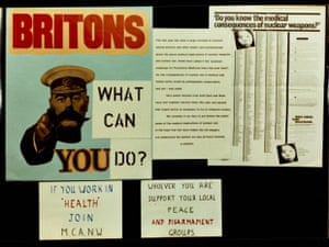 Medical Campaign Against Nuclear Weapons/ Medical Association for the Prevention of War materials, 1980s.