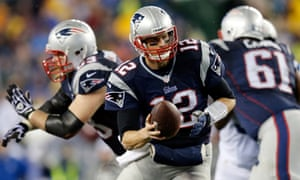 Tom Brady in action for the Patriots.