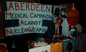 Aberdeen Medical Campaign Against Nuclear Weapons. 1980s.