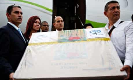 Venezuelan officials hold Henri Matisse painting