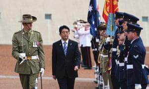 shinzo abe military