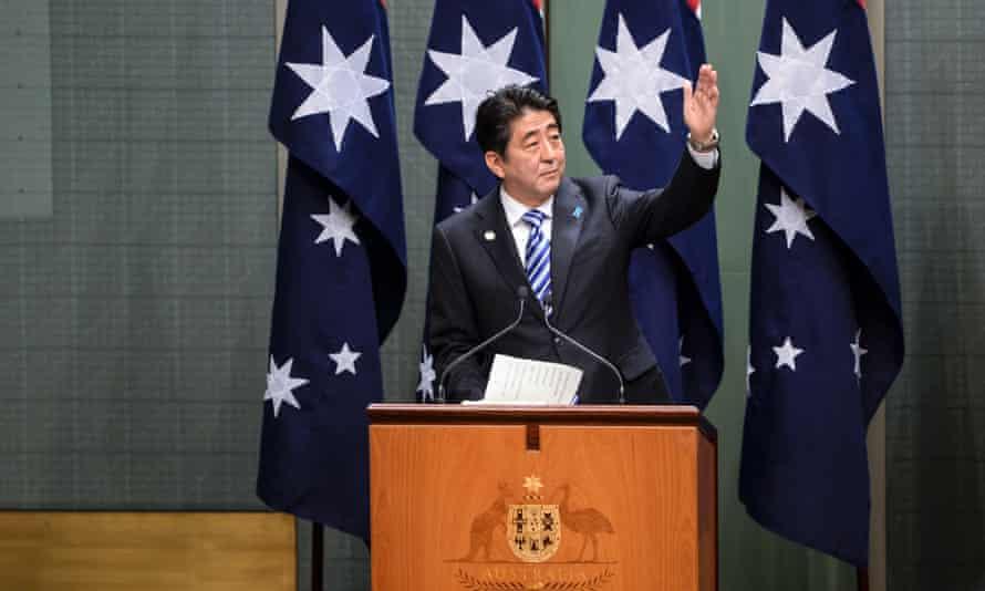 Shinzo Abe speech