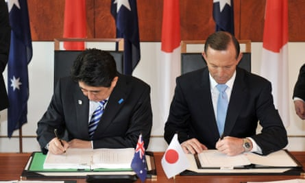 shinzo abe tony abbott