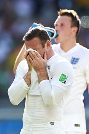 Wayne Rooney's World Cup vest