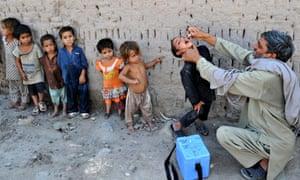 AFGHANISTAN-HEALTH-POLIO