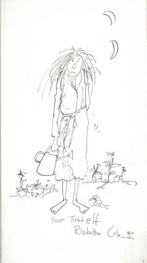 Babette Cole: Prelim sketch 1