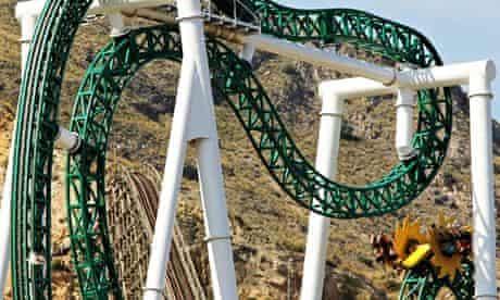 Terra Mitica rollercoaster the Inferno