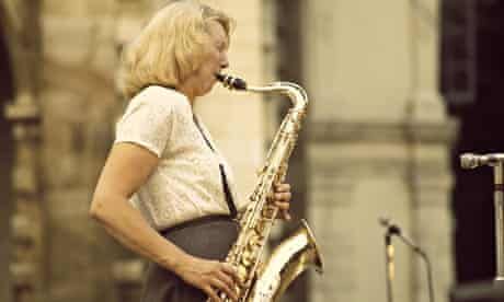 Kathy Stobart, saxophonist, who has died aged 89