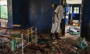 The tuberculosis ward at Malakal Teaching Hospital, South Sudan, Tuesday, July 1, 2014