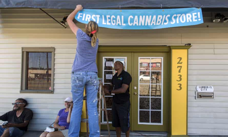 Washington marijuana shop