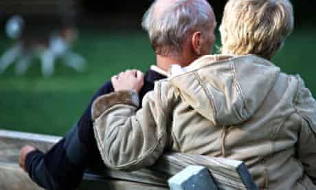 worried old people
