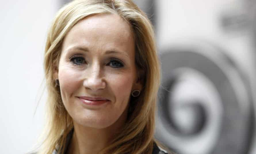 JK Rowling, author of the Harry Potter series of books